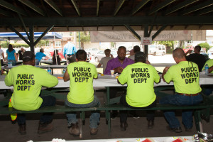 2015 SHBA Cookout - South Holland Public Works