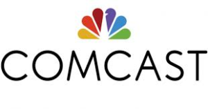 Comcast Logo, a sponsor of the South Holland Business Association