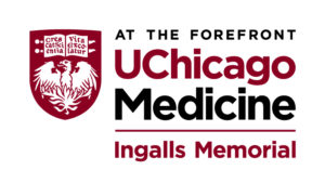Logo of University of Chicago Medicine at Ingalls Hospital, a sponsor of the South Holland Business Association
