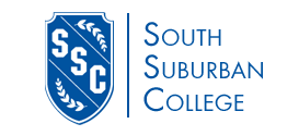 Logo for South Suburban College in South Holland Illinois